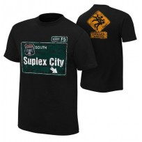"WWE футболка рестлера Брок Леснар, Brock Lesnar, ""Suplex City"" , WWE Брок Леснар"