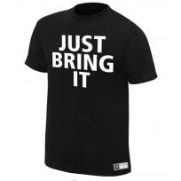 "WWE Футболка рестлера Скалы The Rock ""Brahma Bull"", Dwayne Johnson."