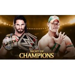 Сет Роллинс (Seth Rollins) против Джона Сина (John Cena).